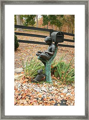 Framed Print featuring the photograph Kentucky Dream Works by Sylvia Hart