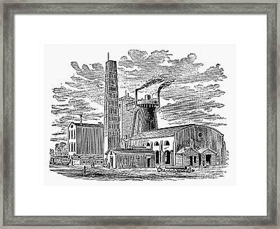 Kentucky: Factory, 1876 Framed Print