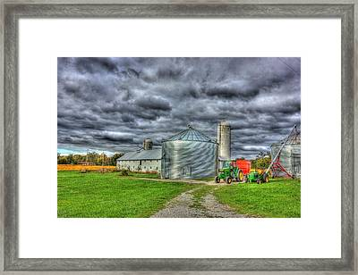Kentucky Farm 3 Framed Print by Barry Jones