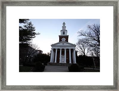 Kentucky Memorial Hall Framed Print by Replay Photos