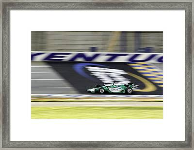 Kentucky Speedway Irl Framed Print by Keith Allen