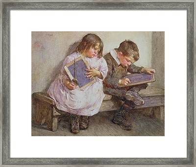 Kept In Framed Print by John Henry Henshall