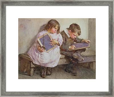 Kept In Framed Print by John Henry Henshall