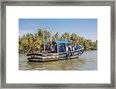 Kerala Queen Framed Print by Kantilal Patel