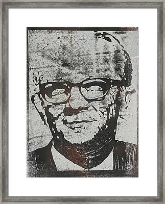 Kermit Framed Print by William Cauthern