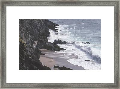 Kerry Beach Framed Print