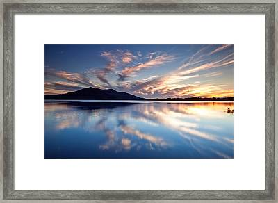 Kerry Reflections Framed Print by Brendan O Neill