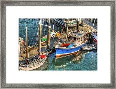 Ketchikan Harbor Framed Print by Don Mennig
