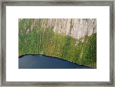 Ketchikan Misty Fjord 8857 Framed Print by Michael Peychich