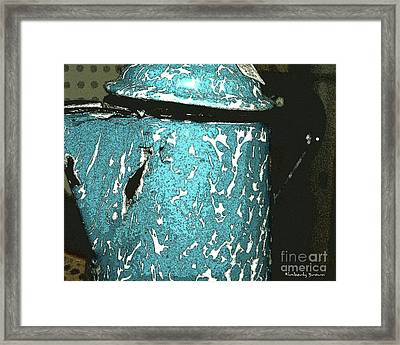 Kettle Framed Print