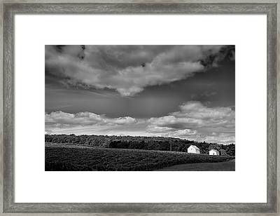 Keuka Landscape Vi Framed Print by Steven Ainsworth
