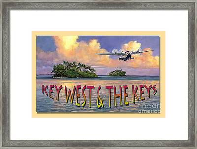 Key West Air Force Framed Print by David  Van Hulst