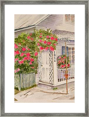 Key West Home Framed Print