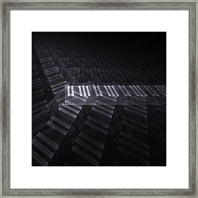 Keyboard Framed Print by Kim French
