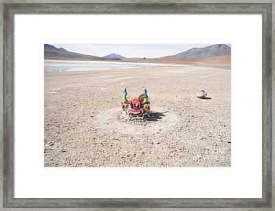 Khari Khari Framed Print by Maximiliano  Sinani