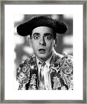 Kid From Spain, The, Eddie Cantor, 1932 Framed Print by Everett