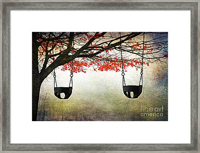 Kid's Play Framed Print by Darren Fisher
