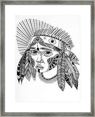 Kienke Framed Print by JF Mondello