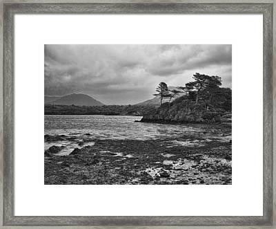 Framed Print featuring the photograph Killarney Lake by Hugh Smith