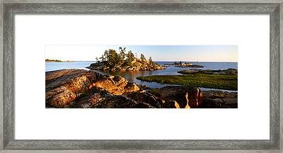 Killarney Provincial Park Framed Print by Ron Watts