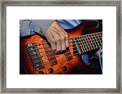 Killer Bass Framed Print