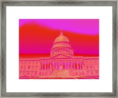 Killer Framed Print by Hannah Stedman