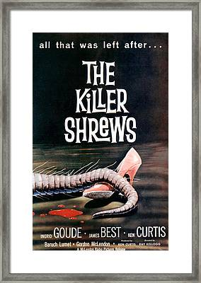 Killer Shrews, The, 1959 Framed Print
