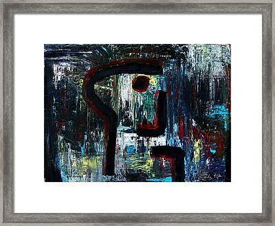 Killer Framed Print by Terrance Prysiazniuk