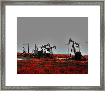 Killing Ground Framed Print