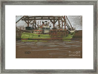 Kilmore Quay Fishing Trawler Framed Print by Donald Maier