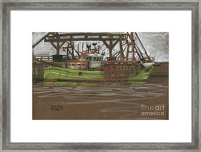 Kilmore Quay Fishing Trawler Framed Print by Donald Maier