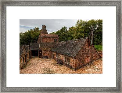 Kiln Courtyard Framed Print