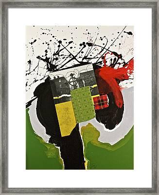Kilter Framed Print by Cliff Spohn