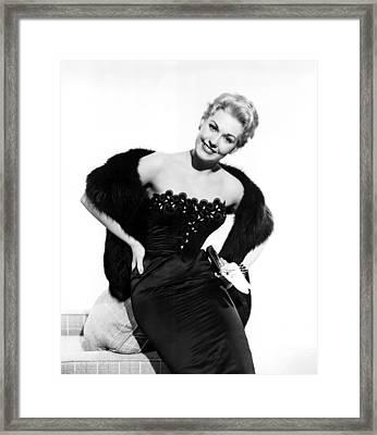 Kim Novak, 1954 Framed Print by Everett
