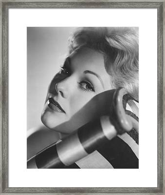 Kim Novak, 1956 Framed Print by Everett