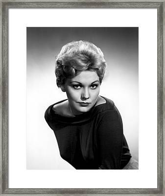 Kim Novak, Columbia Pictures, 1956 Framed Print by Everett