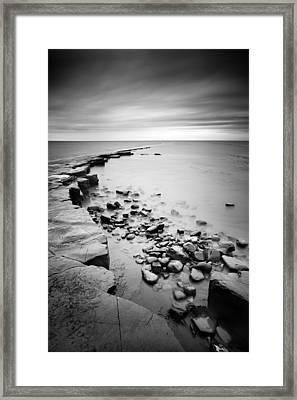 Kimmeridge Bay Framed Print