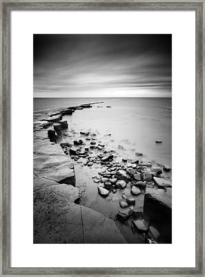 Kimmeridge Bay Framed Print by Nina Papiorek