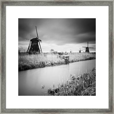Kinderdijk 01 Framed Print by Nina Papiorek