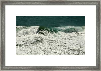 Kinetic Climax Framed Print by Gregory Scott