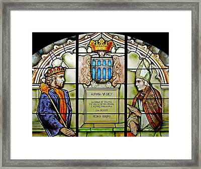 King Alfonso Vi ... Framed Print by Juergen Weiss