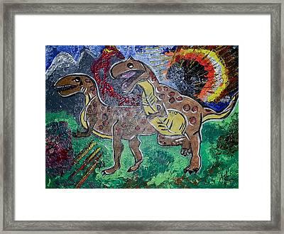 King Di-nojoel Framed Print
