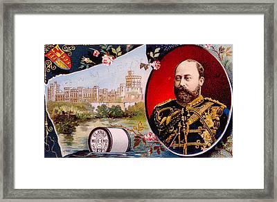 King Edward Vii 1841-1910, King Framed Print by Everett