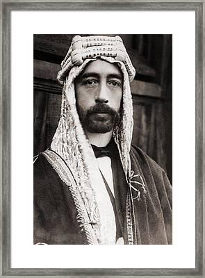 King Faisal Faysal Of Iraq 1885�33 Framed Print by Everett