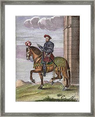 King Francis I (1494-1547) Framed Print by Granger