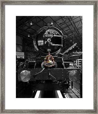 King George The Fith Framed Print by Rob Hawkins