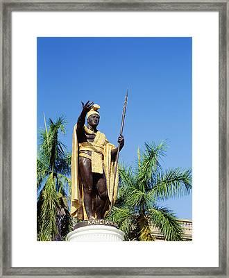 King Kamehamea Framed Print by Greg Vaughn - Printscapes