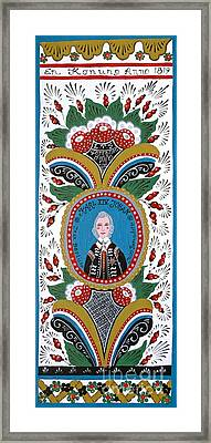 King Karl Johan Of Sweden Framed Print by Leif Sodergren