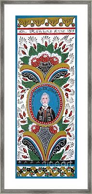 King Karl Johan Of Sweden Framed Print by Leif Sodergren