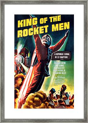 King Of The Rocket Men, Tristram Coffin Framed Print by Everett
